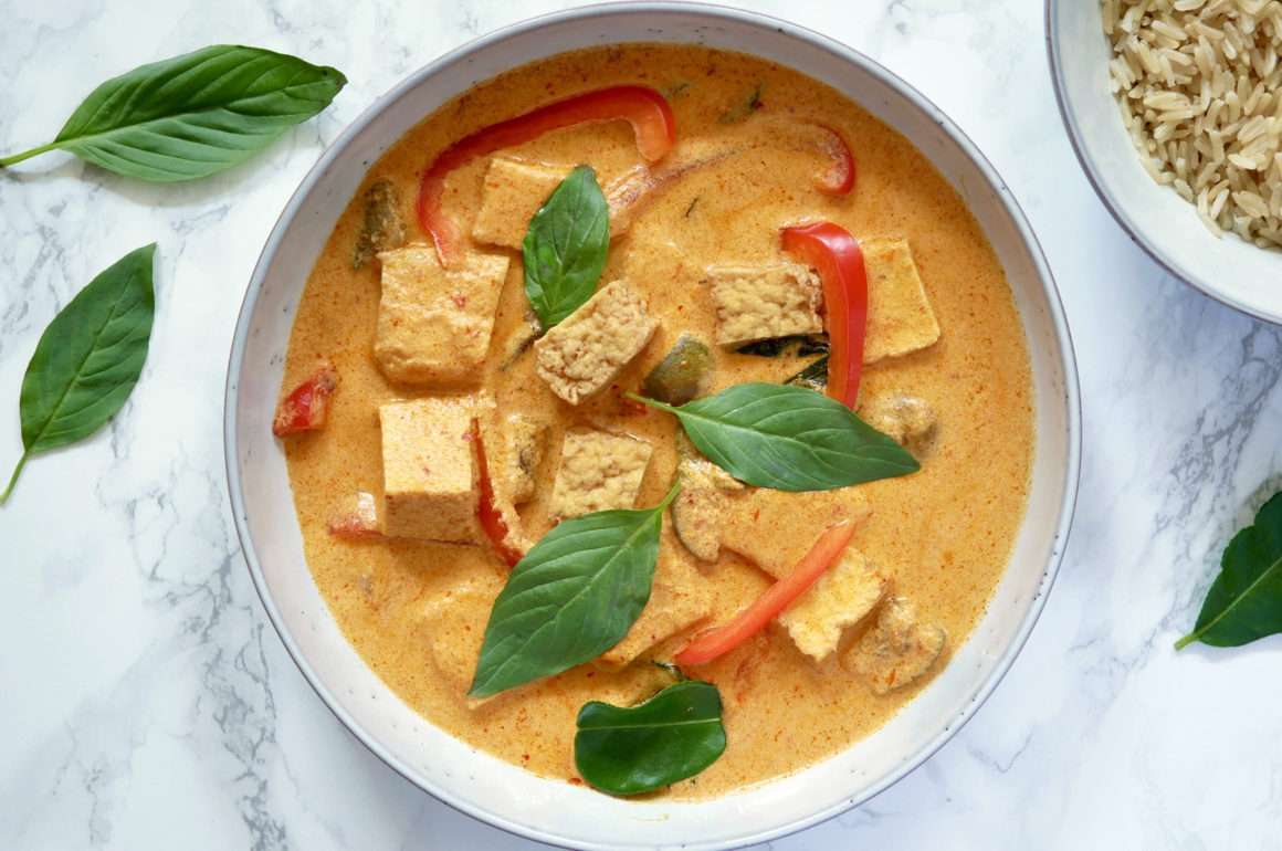 RED CURRY MED TOFU